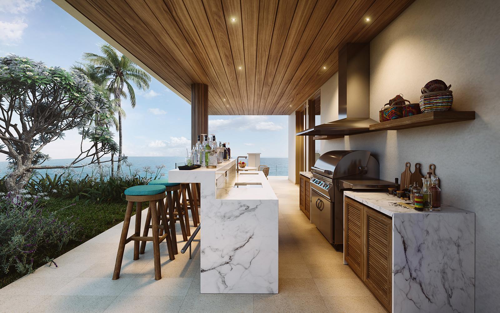 Six Senses Villa views